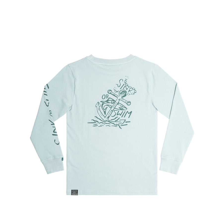 Sink or Swim LS Tee Kids