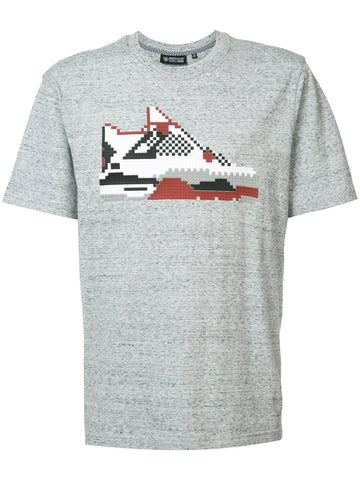 INFRARED SNEAKER TEE - HEATHER GRAY