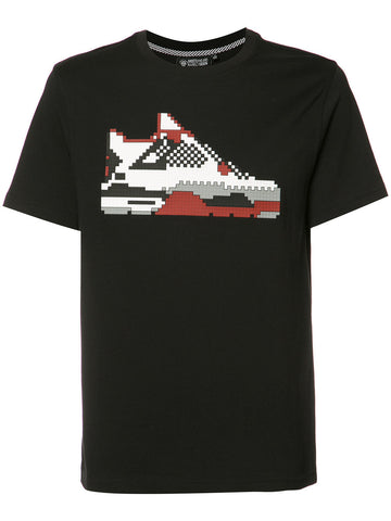 INFRARED SNEAKER TEE - BLACK