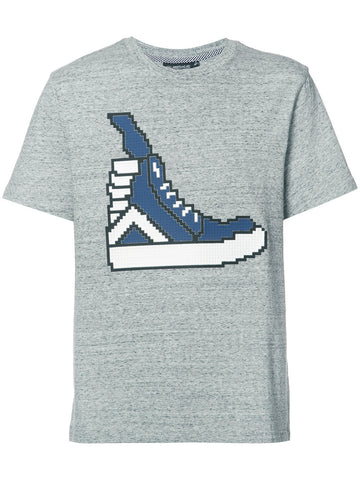 HI-TOP SNEAKER TEE - HEATHER GRAY