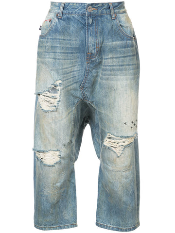 ARMY OF ONE DROPCROTCH JEANS