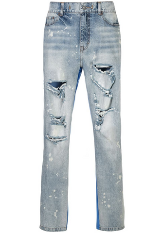 Half and Half Pant BLUE DENIM/BLUE