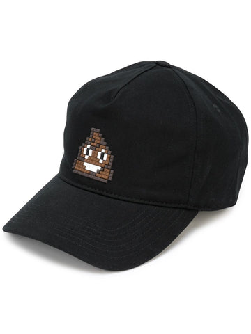 TINY POOP HAT BLACK 8-BIT