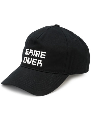 TINY GAME OVER HAT BLACK 8-BIT