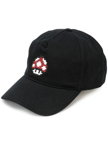 TINY SHROOM HAT BLACK 8-BIT