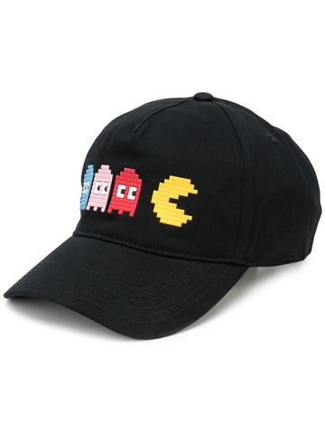 TINY GHOSTS HAT BLACK 8-BIT