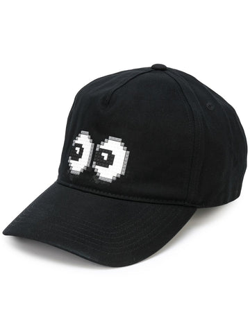 TINY BULGE HAT BLACK 8-BIT