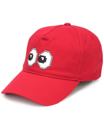 TINY BULGE HAT RED 8-BIT