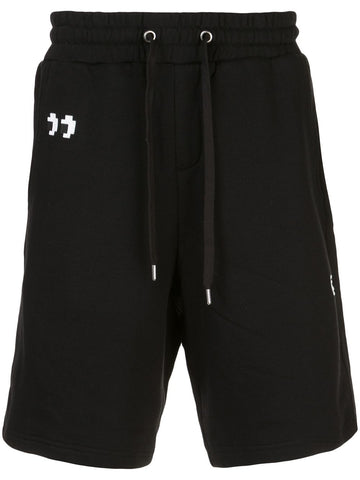 PEEK SHORTS BLACK 8-BIT