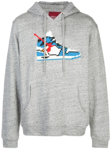 TRUE BLUE HOODIE HEATHER GREY