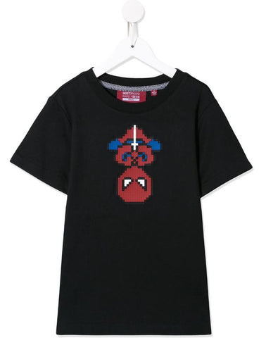 MINI ME ARACHNO TEE BLACK