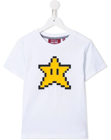 MINI ME STAR TEE WHITE
