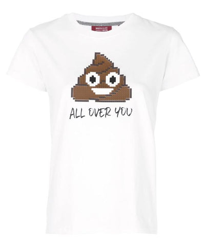 ALL OVER YOU TEE WHITE