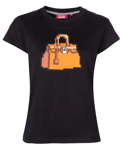 BRICK TEE BLACK WOMEN