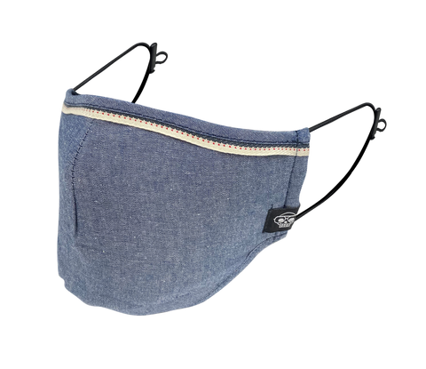 CHAMBRAY MHRS FACE MASK
