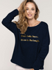 Spinback™️ Disco Female Slouch Sweatshirt