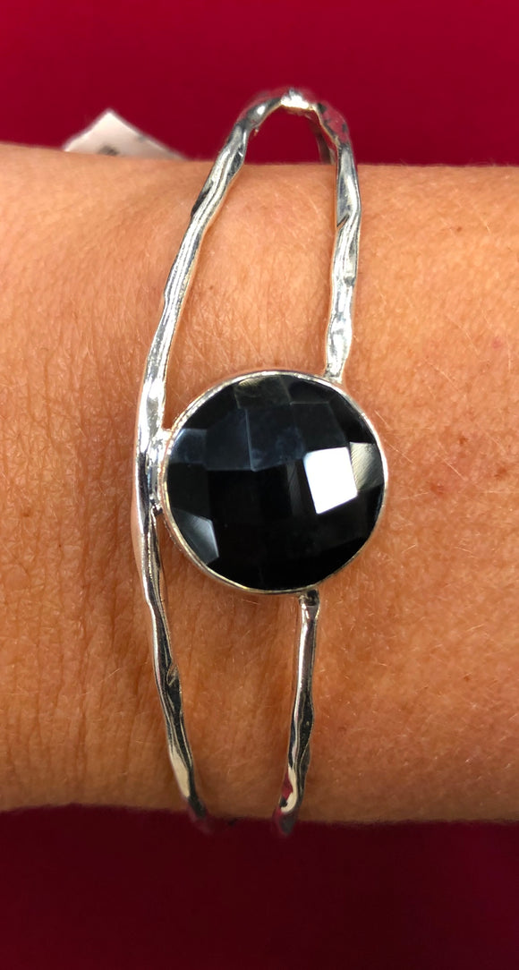Onyx Cuff Bracelet (also available in citrine)