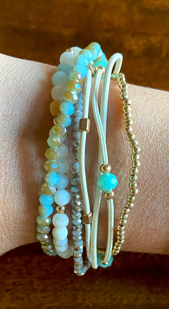 Natural Stone Fashion Bracelet available in other colors