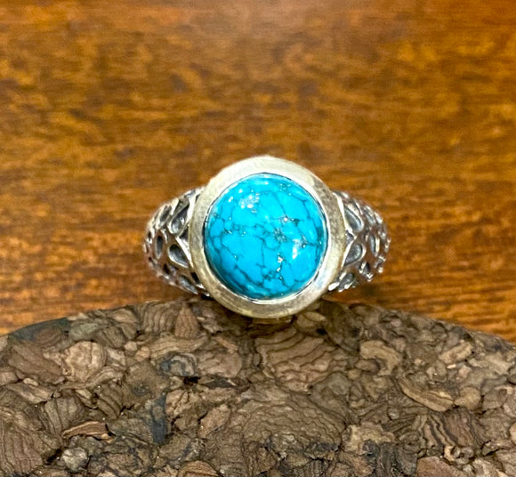 Turquoise Ring set in Sterling Silver also available in other stones
