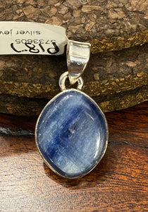 Kyanite Pendant set in Sterling Silver