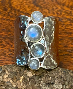 Labradorite Ring set in Sterling Silver