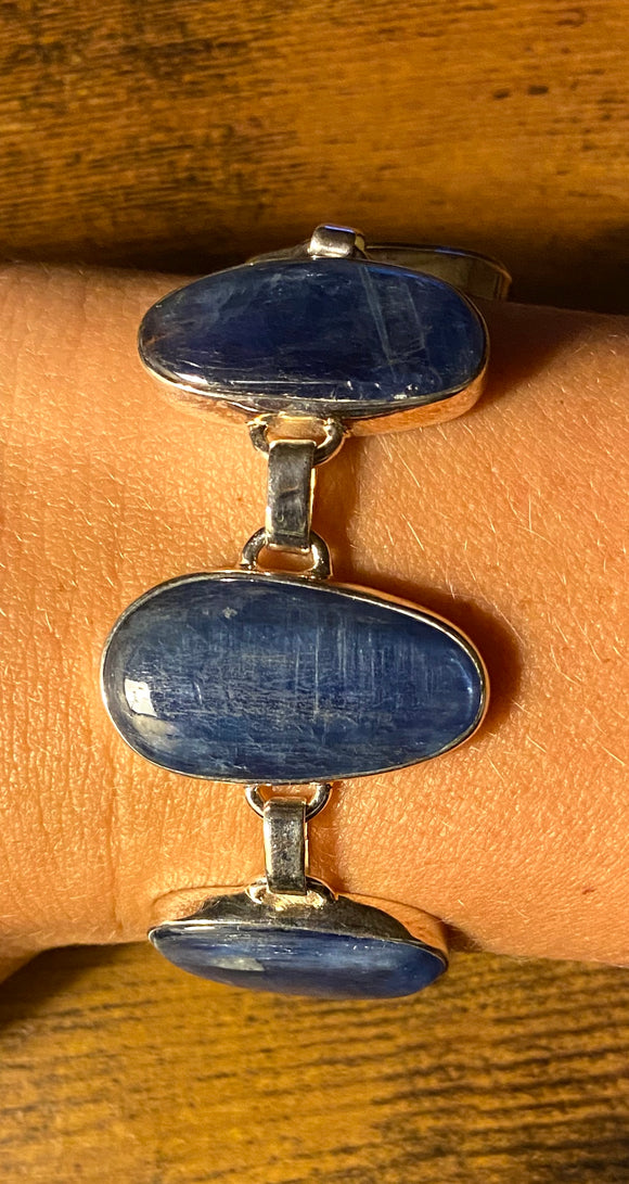 Kyanite Bracelet set in Sterling Silver