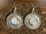 Moonstone Earring set in Sterling Silver available in other stones