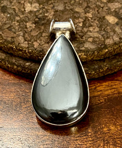 Hematite Pendant set in Sterling Silver