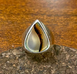 Agate Ring set in Sterling Silver
