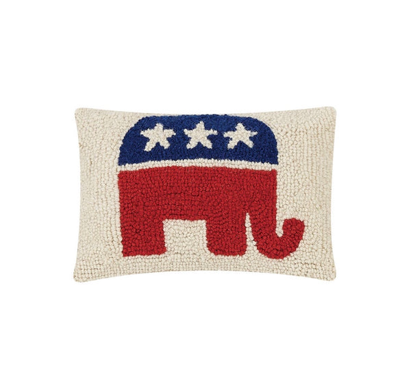 Republican Party Logo Hook Pillow