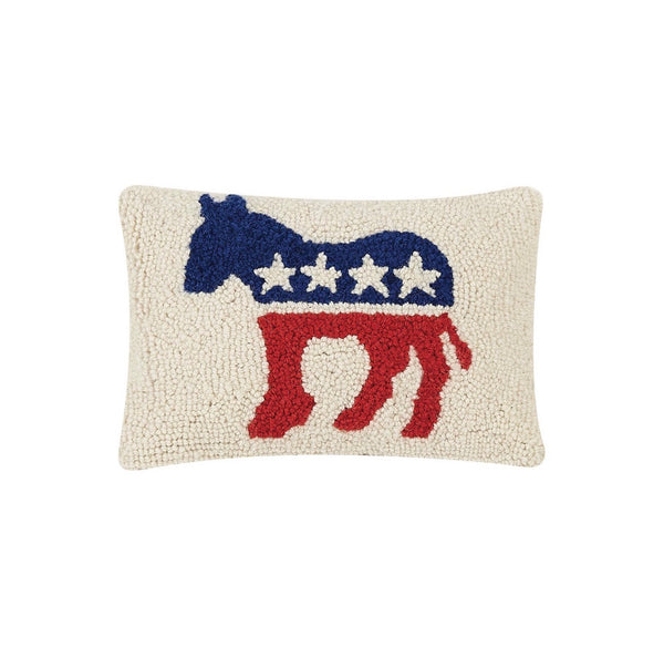 SOLD OUT-Democrat Party Logo Hook Pillow