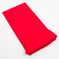 Ruffle Hand Towel (Red)