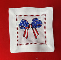 Patriotic Napkins: Set of 4