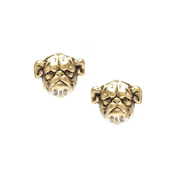 Bulldog Stud Earrings