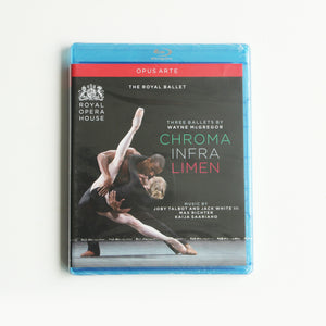 Three Ballets by Wayne McGregor Blu-ray (The Royal Ballet)