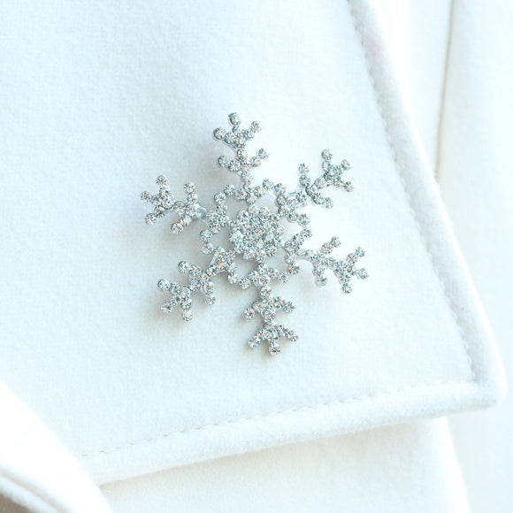 Snowflake Brooch (Large)