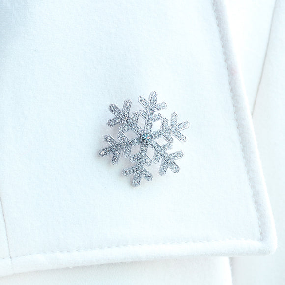 Snowflake Brooch (Small)