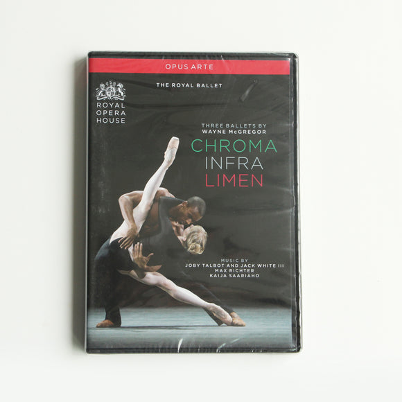Three Ballets by Wayne McGregor DVD (The Royal Ballet)