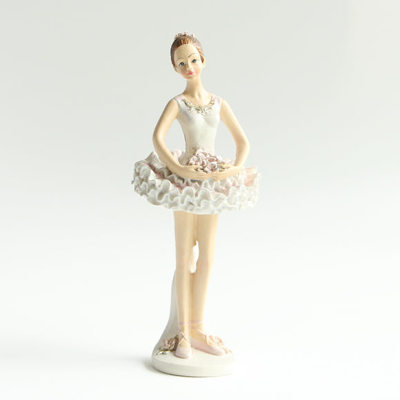 Ballerina Figurine (Standing, arms out in front)