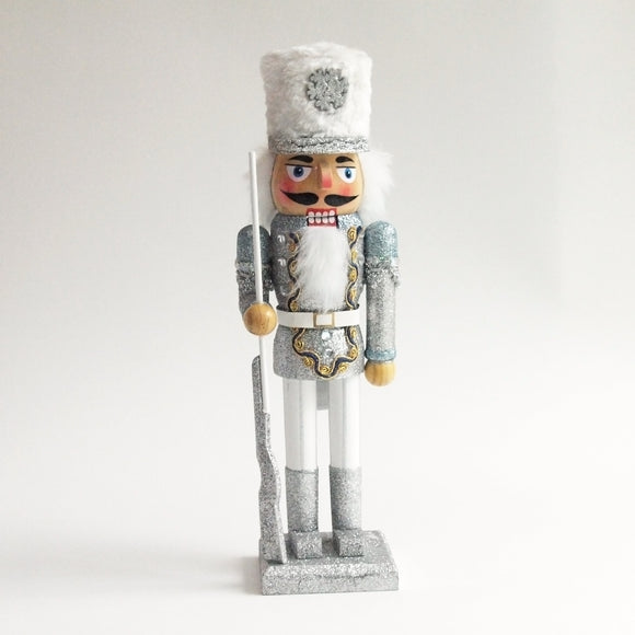 Nutcracker Glitter Soldier Figure