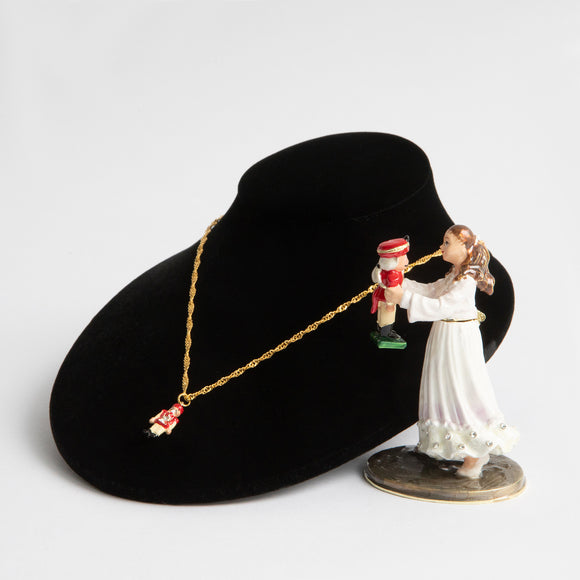 The Nutcracker Trinket Box (Marie) with Necklace