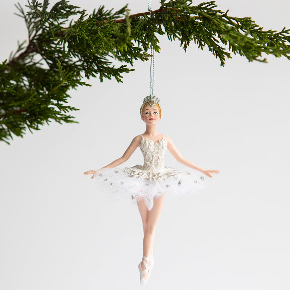 Ballerina Ornament (Swan Lake)
