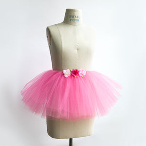 Rose Dark Pink Tutu (4–6 years)