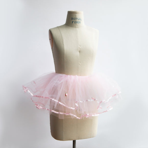 Light Pink Tutu Ribbon Edge(4–7 years)