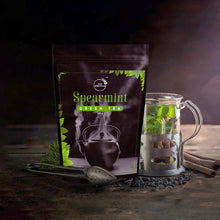 Load image into Gallery viewer, Spearmint Green Tea 100g