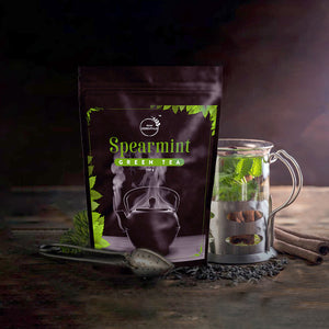 Spearmint Green Tea 100g