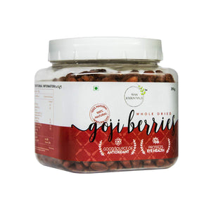 Dried Blueberries, Dried Goji Berries, and Dried Cranberries Combo (300g, 250g, 300g)