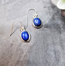 Load image into Gallery viewer, Lapis Lazuli  Drop Earrings