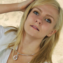 Load image into Gallery viewer, Crystal Quartz Teardrop Pendant and Earrings Set