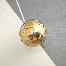 Load image into Gallery viewer, Large Silver and Brass Harmony Ball Pendant